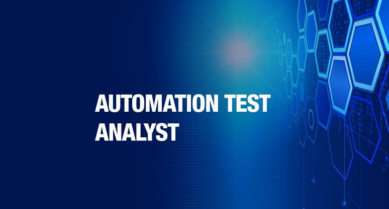 Automation Test Analyst