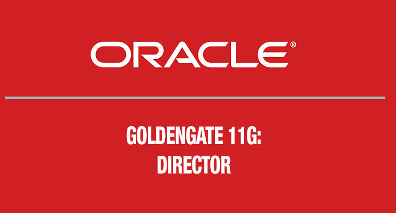 Oracle GoldenGate 11g: Director
