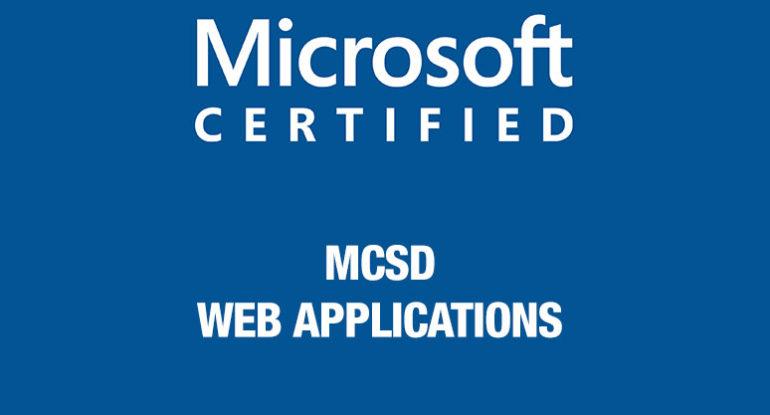 MCSD-Web-Applications
