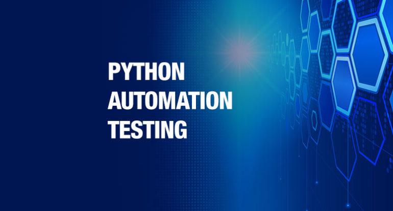 Python-Automation-Testing