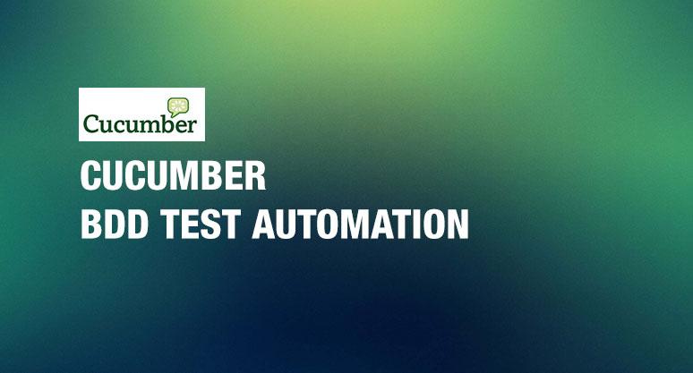 Cucumber BDD Test Automation Training