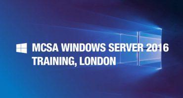 MCSA-Windows-Server-2016-Training,-London