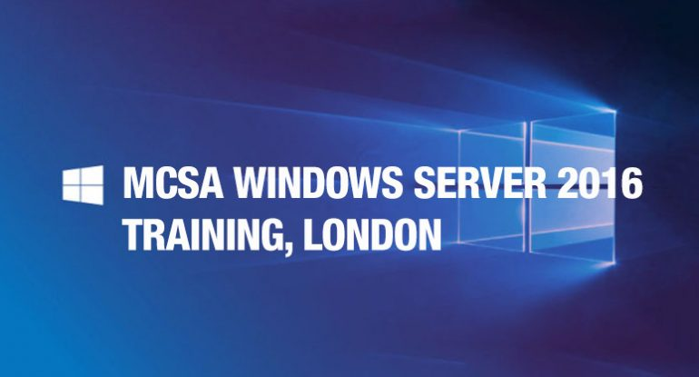 MCSA-Windows-Server-2016-Training,-London